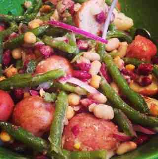 Potato and 4 Bean Salad