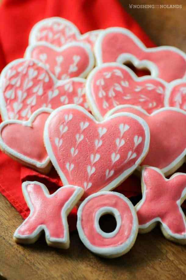 Valentine's Day Sugar Cookies -- Part of the Best Valentine's Day Cookies