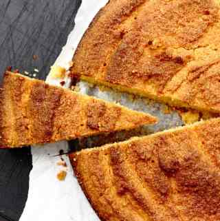 Almond Orange Polenta Cake