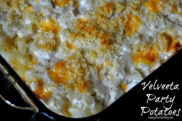 Velveeta Party Potatoes | The Best Blog Recipes Casserole Recipe Round Up
