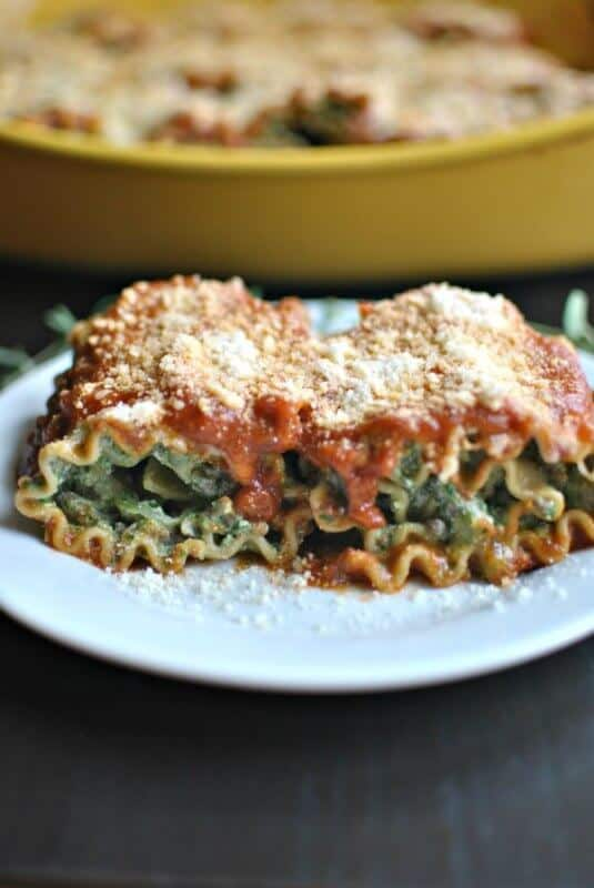 Beef Spinach Lasagna Roll Up's | The Best Blog Recipes Casserole Recipe Round Up