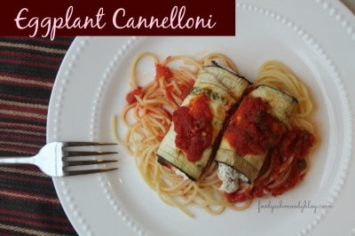 Eggplant Cannelloni | The Best Blog Recipes