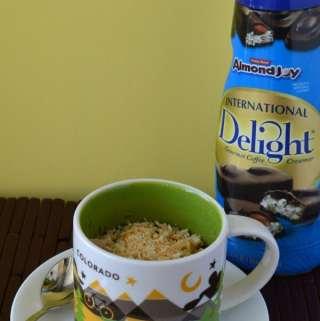 Coconut Chocolate Mug Cake