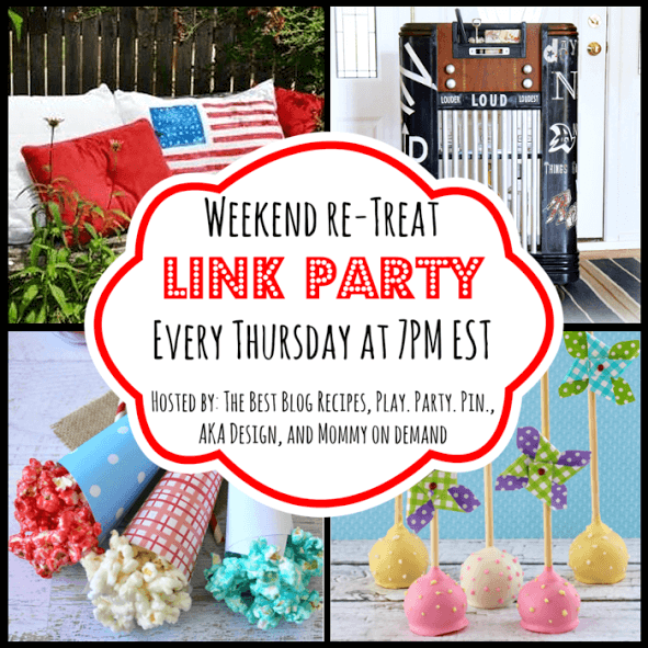 The Weekend re-Treat Link Party #73