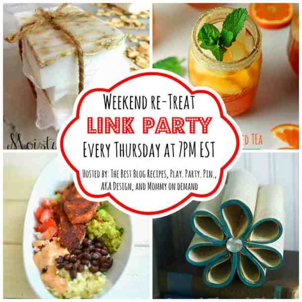 The Weekend re-Treat Link Party #78