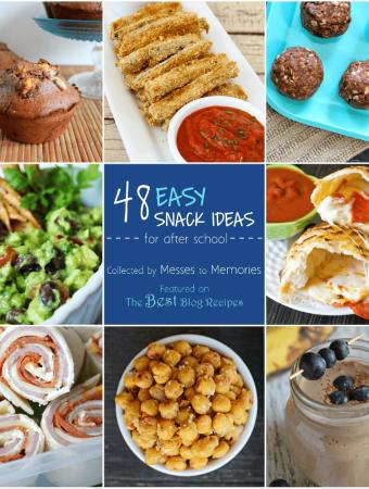 48 Easy Snack Ideas