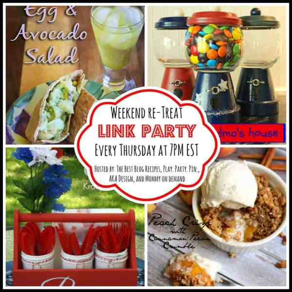 The Weekend re-Treat Link Party #80