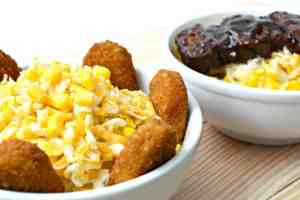 Easy Chicken Nuggets and Riblet Bowls
