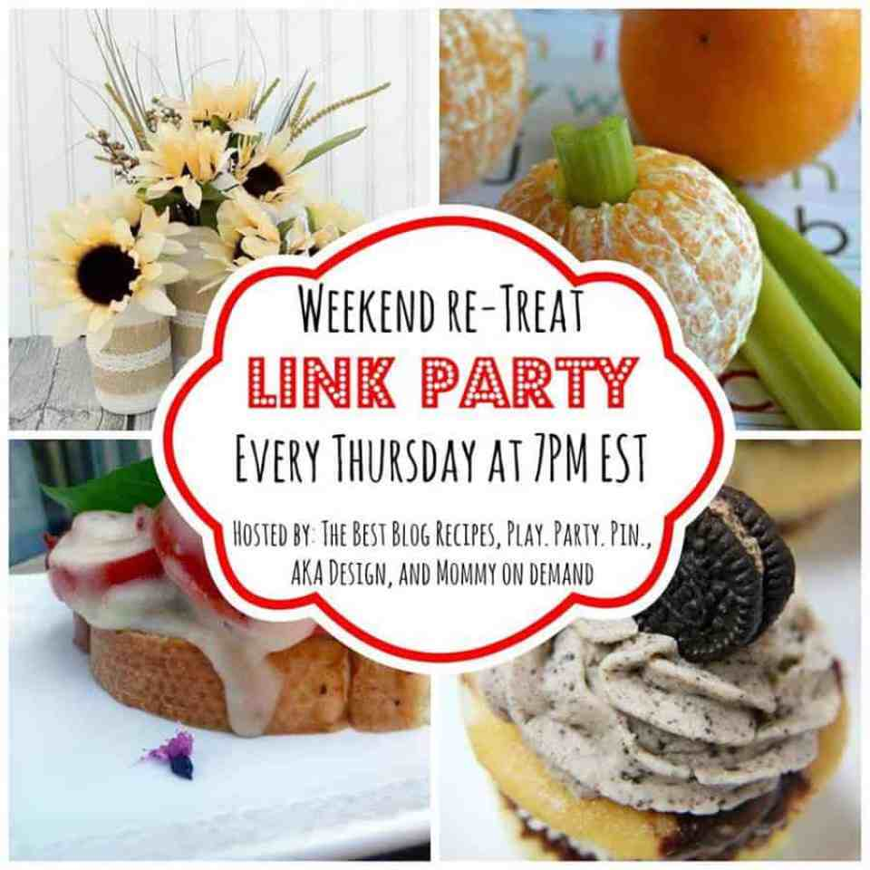 The Weekend re-Treat Link Party #86 on The Best Blog Recipes!