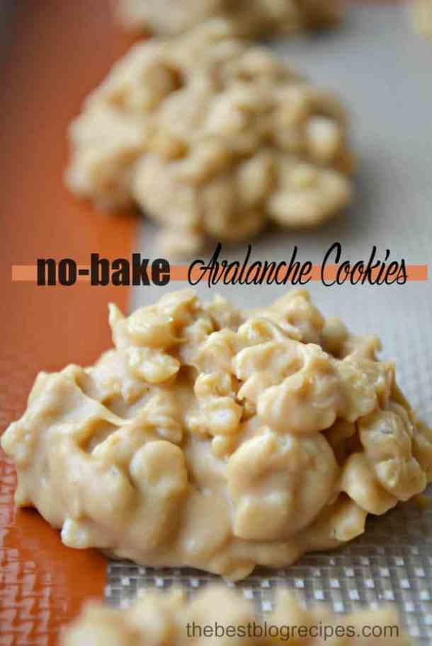 No-Bake Avalanche Cookies