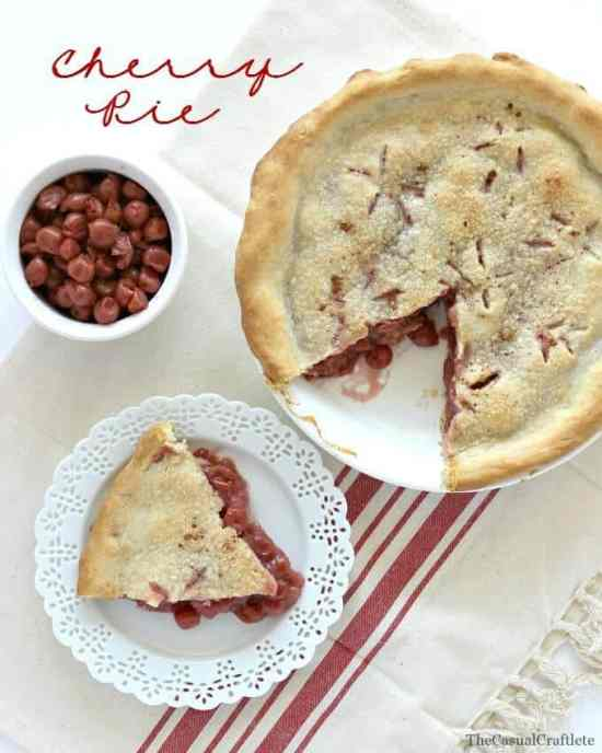 Homemade-Cherry-Pie-by-www.thecasualcraftlete.com_