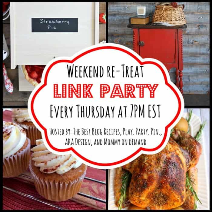 The Weekend re-Treat Link Party #95