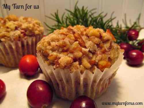 Cranberry Muffins featured on 26 Christmas Recipes from The Best Blog Recipes