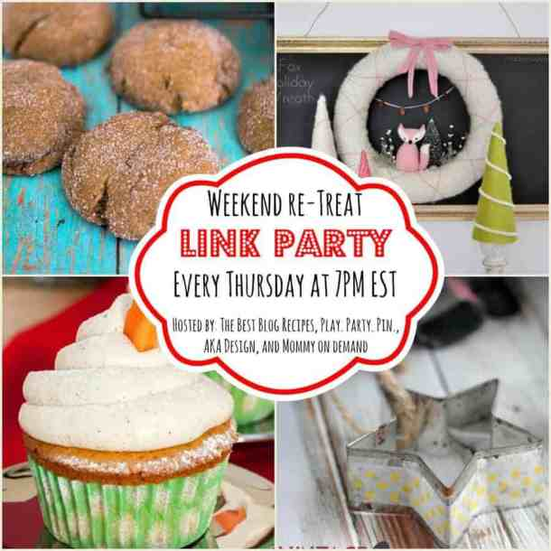The Weekend re-Treat Link Party #97