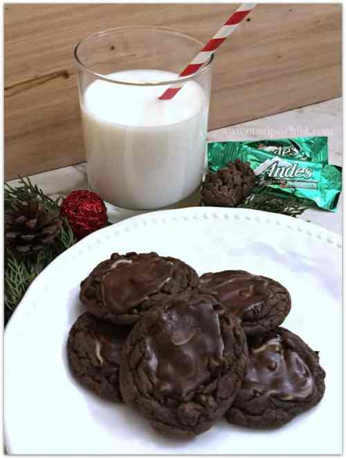 Mint Chocolate Cookies featured in 18 Peppermint Desserts on The Best Blog Recipes