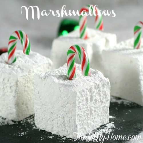 Homemade Marshmallows featured on 26 Christmas Recipes from The Best Blog Recipes