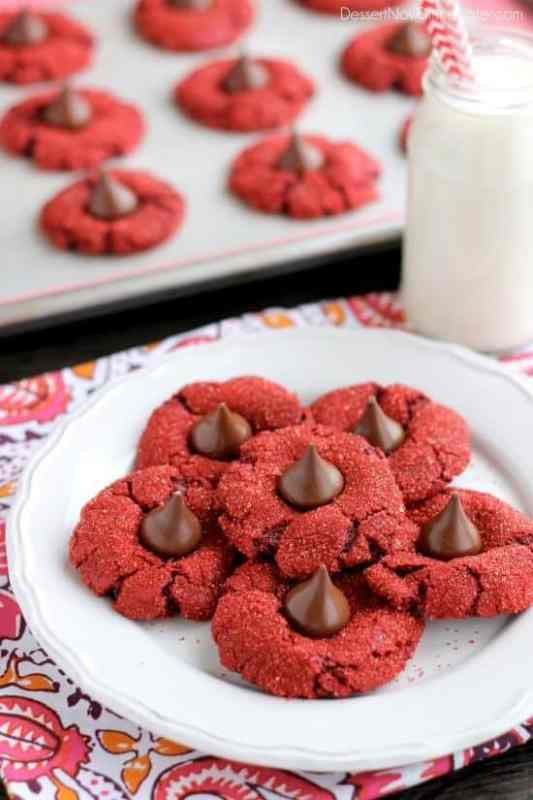 Red Velvet Cherry Blossoms featured on 30 Valentine's Day Recipes from The Best Blog Recipes