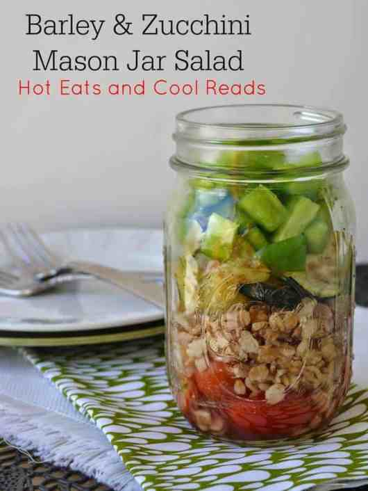 Barley Zucchini Salad featured on 45 Healthier Recipes from The Best Blog Recipes