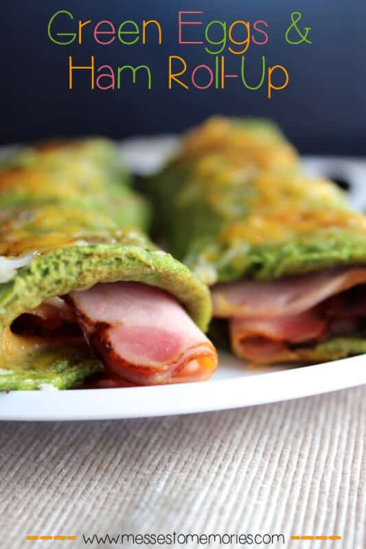Green Eggs and Ham Omelet featured on 25 Gluten Free Recipes from The Best Blog Recipes