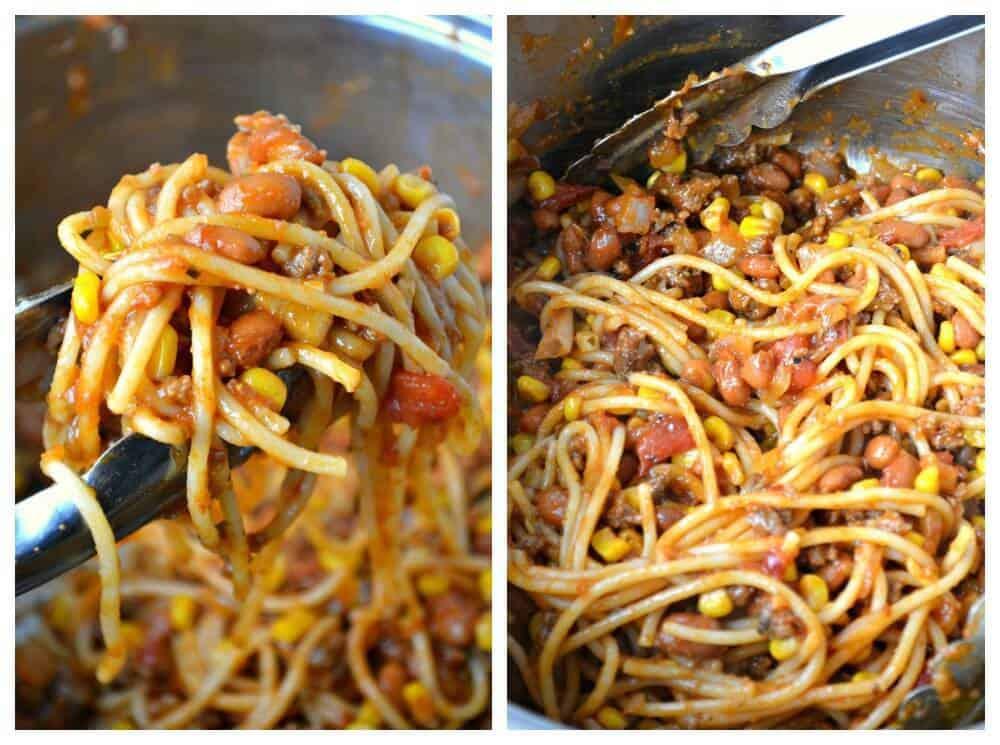 Mexican Spaghetti Recipe