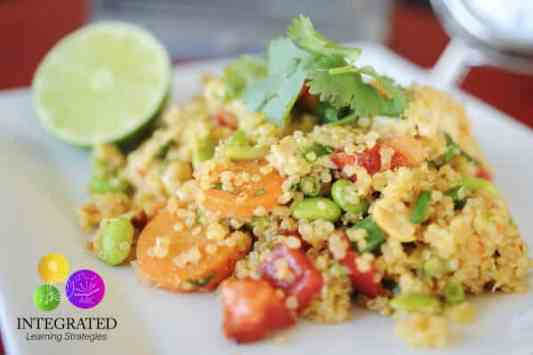 Quinoa Salad featured on 25 Gluten Free Recipes from The Best Blog Recipes