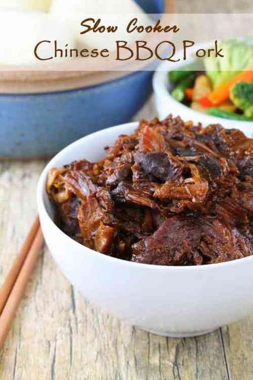 Slow Cooker Chinese BBQ Pork featured on 21 of the Best Chinese Recipes from The Best Blog Recipes
