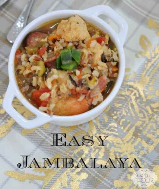 Easy Jambalaya Green Eggs and Ham Omelet featured on 25 Gluten Free Recipes from The Best Blog Recipes