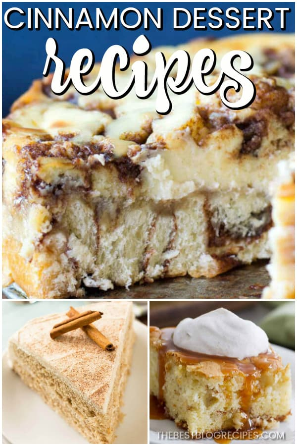 In love with Cinnamon Dessert Recipes? We are! With the perfect amount of sweetness and spice, these recipes will leave you with a new go to for any occasion!