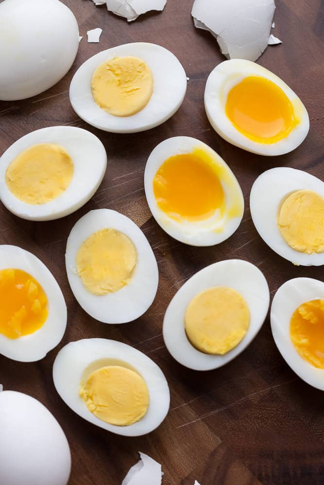 Instant Pot Boiled Eggs – Hard and Soft – pressure cooker or stove-top – how to make perfectly cooked eggs.Best of all, they are so easy to peel! Greatfor breakfast and Easter eggs!
