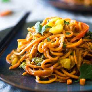 Coconut Curry with Sweet Potato Noodles