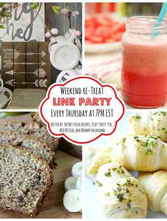 The Weekend re-Treat Link Party#133