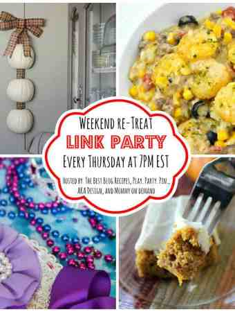 The Weekend re-Treat Link Party #137