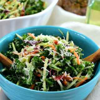 Kale and Broccoli Slaw Salad