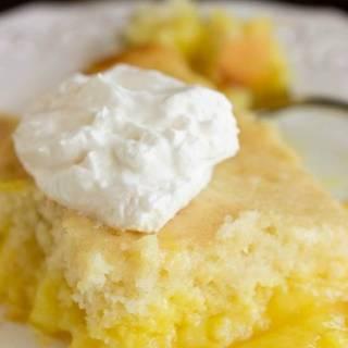 Easy Lemon Lava Cake