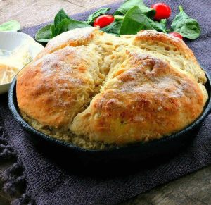 Irish Potato Bread -- A quick ,fantastic potato bread recipe you can make and enjoy for dinner in no time at all.