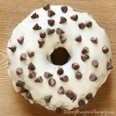 BAKED DOUBLE CHOCOLATE DOUGHNUTS WITH ORANGE GLAZE -- are dipped in a tangy citrus glaze made with real orange juice that complements the moist chocolate of the doughnut. | Featured on www.thebestblogrecipes.com