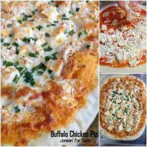 Buffalo Chicken Pizza Square 1