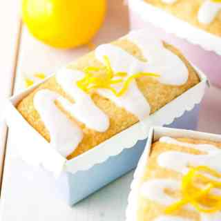 Mini Meyer Lemon Loaves