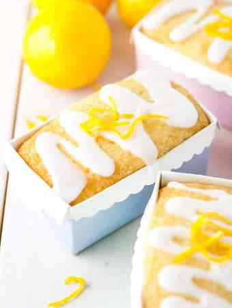 Mini Meyer Lemon Loaves
