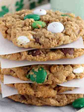 Monster Leprechaun Cookies