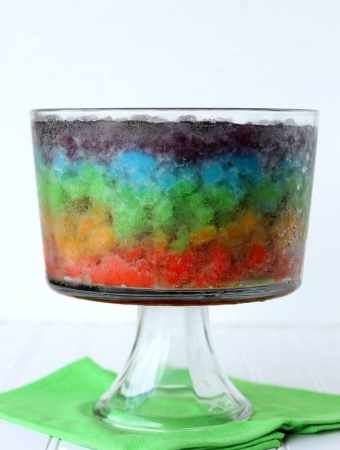 Rainbow Slush Punch