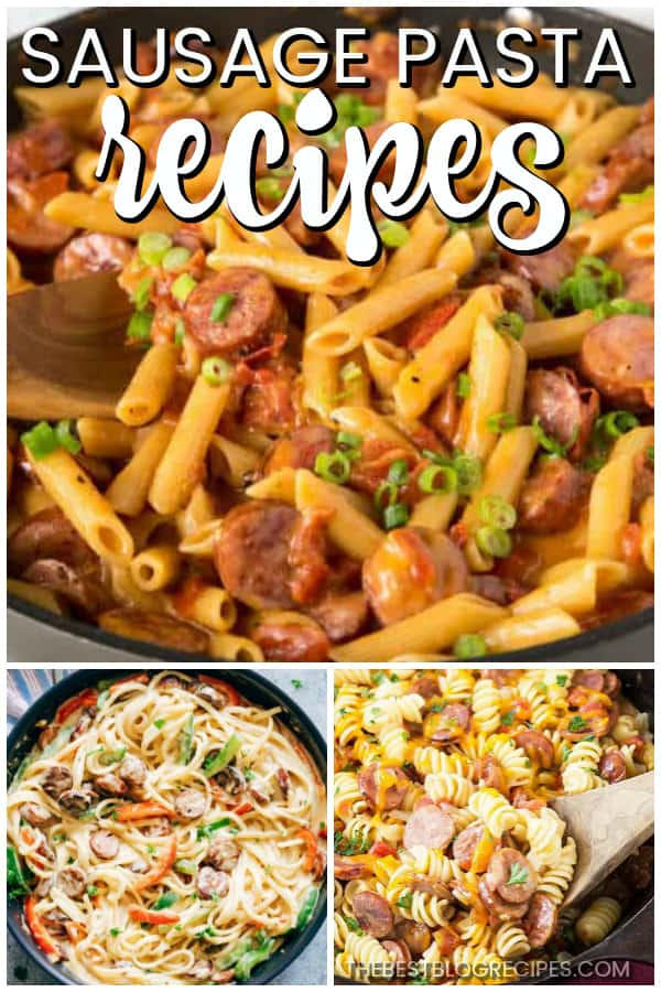 Easy Sausage Pasta Recipes are what is missing from your dinner rotation. You will love the amazing flavor in these tasty and simple to make meals!