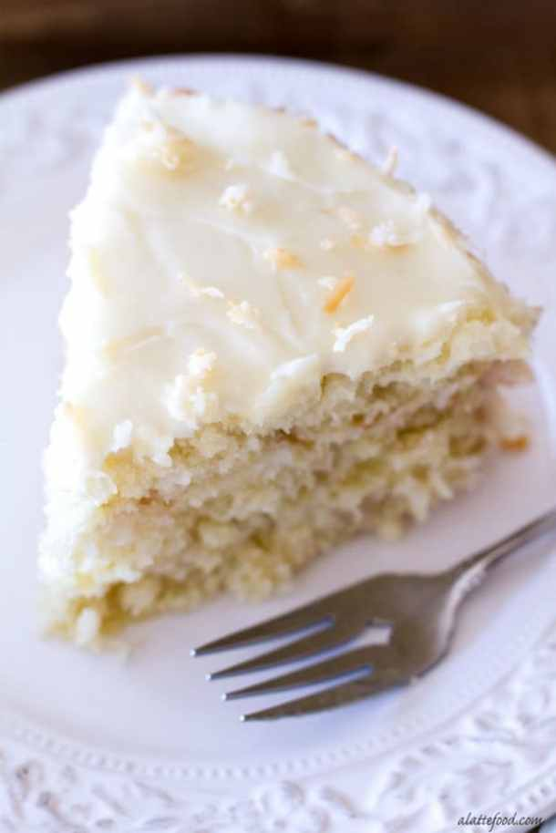 CLASSIC COCONUT CAKE--31+ COCONUT DESSERTS THAT WILL SATISFY YOUR SWEET TOOTH!