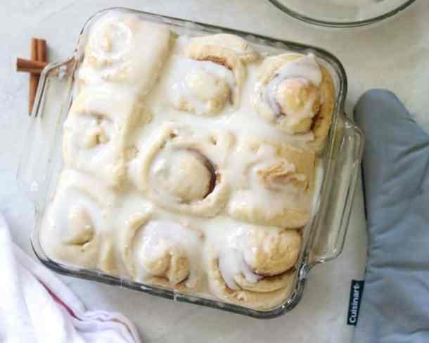 29. Easy Skinny Overnight Cinnamon Rolls-- Part of 30 The Best Breakfast Sweet Rolls Recipes