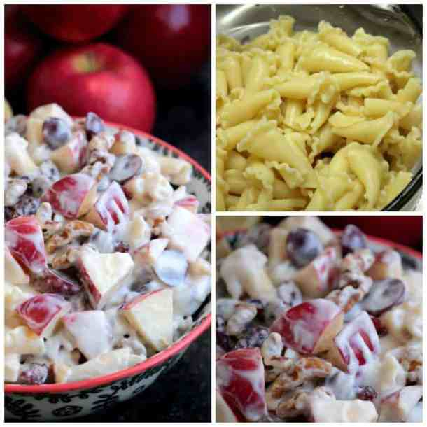 Apple and Honey Pasta Salad