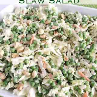 Easy Peasy Slaw Salad