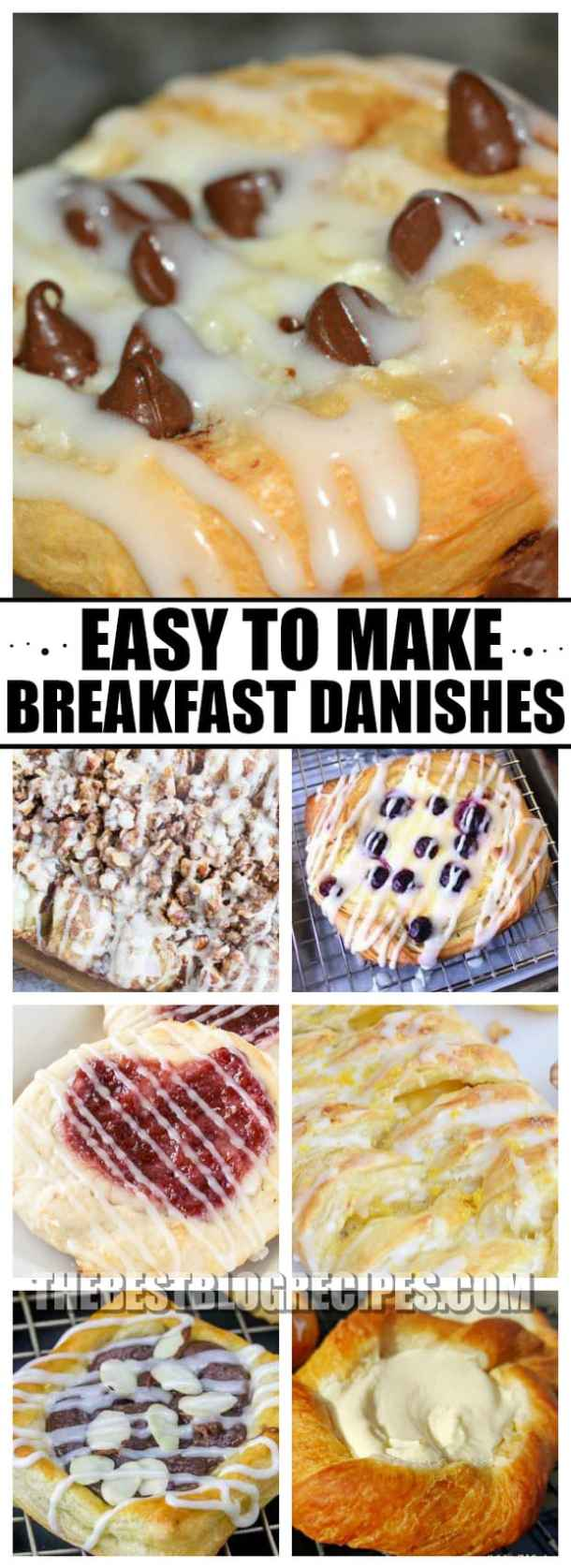 We all need Easy to Make Breakfast Danishes to Start Mornings off Right. Seriously, everyone needs a morning boost, and these delectable danishes are the way to kick off your day in the best possible way!