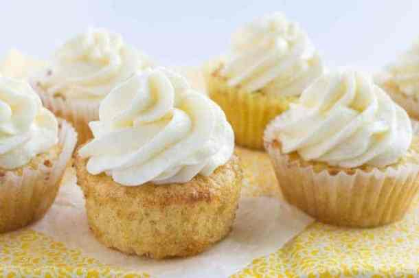 Pineapple Cupcakes-- Part of 30 Pineapple Recipes for your Sweet Summertime Cravings
