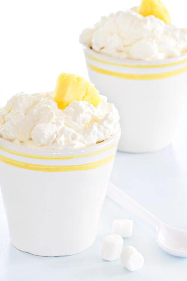 Pineapple Fluff-- Part of 30 Pineapple Recipes for your Sweet Summertime Cravings