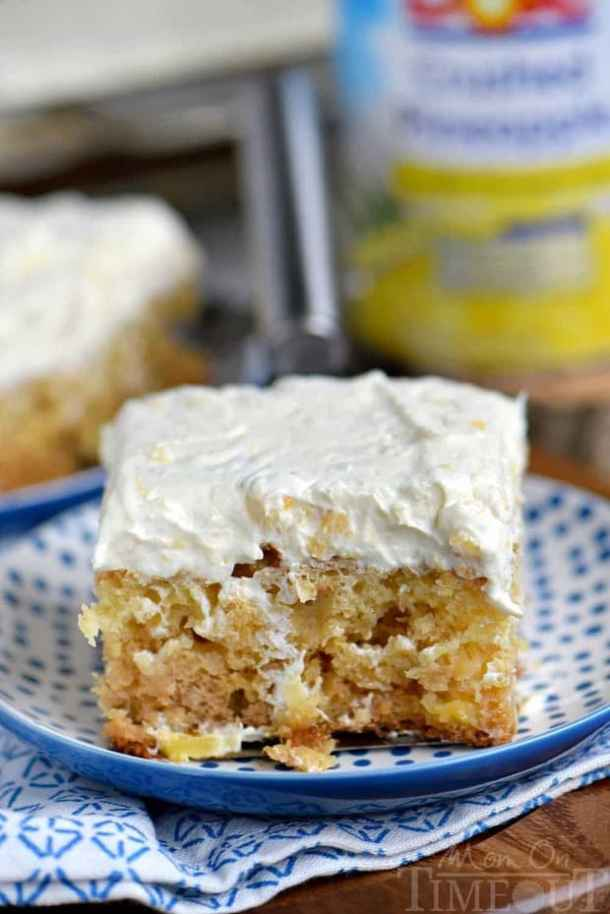 Practically Perfect Pineapple Cake -- Part of 30 Pineapple Recipes for your Sweet Summertime Cravings